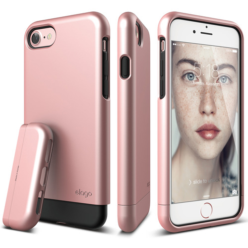 S7 Glide for iPhone 7- Rose Gold+Rose Gold